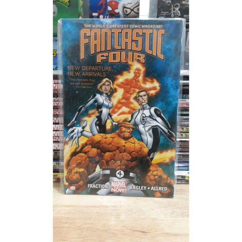 Fantastic Four New Departure New Arrivals #1 - Marvel Comic Graphic Novel - Stack The Cards - [variant_title]