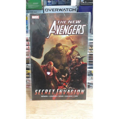 The New Avengers Secret Invasion #8 - Marvel Comic Graphic Novel - Stack The Cards - [variant_title]