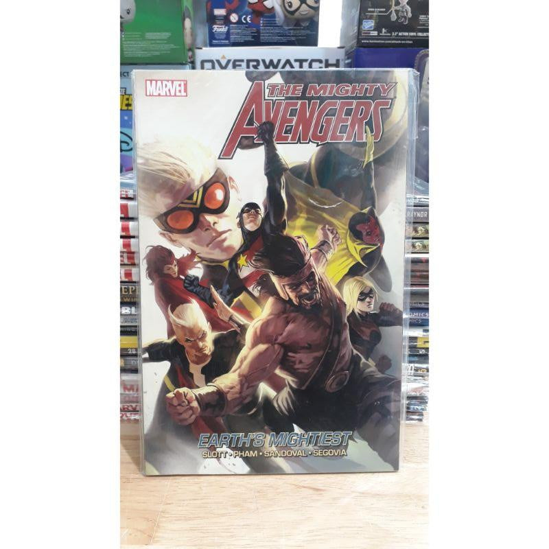 The Mighty Avengers Earth's Mightiest - Marvel Comic Graphic Novel - Stack The Cards - [variant_title]