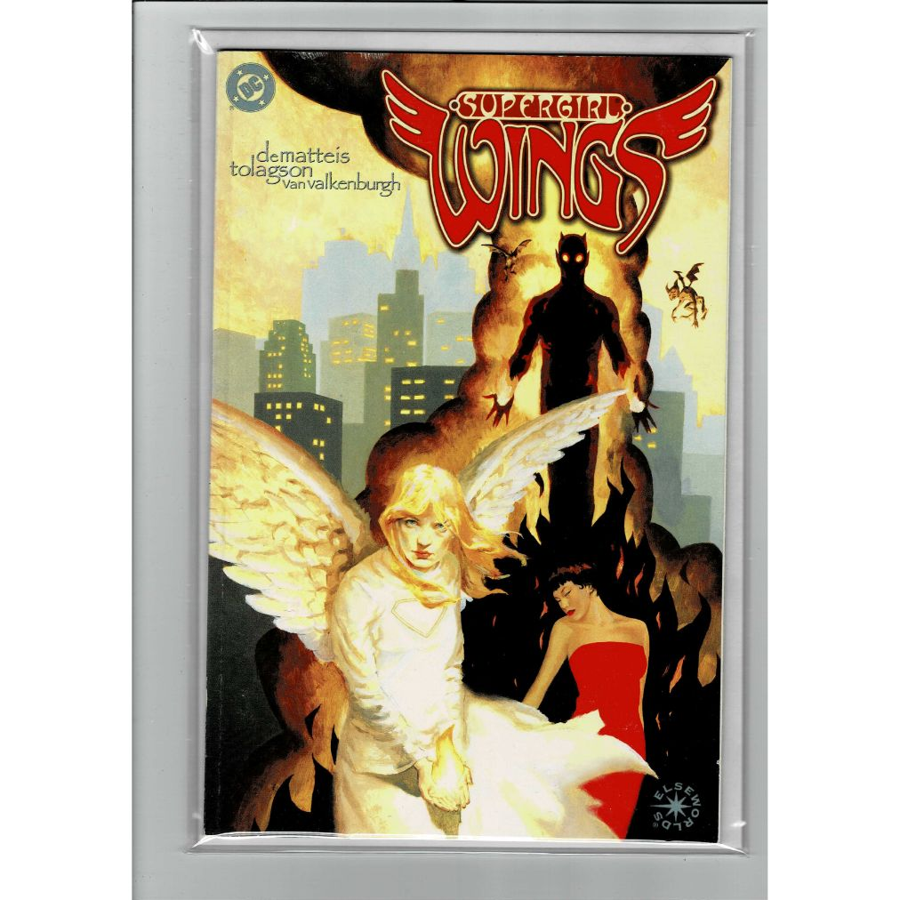 Supergirl Wings Elseworlds DC Trade Comics Book