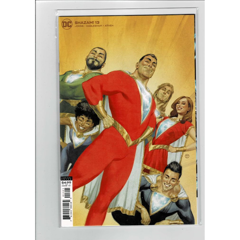 Shazam! #13 Tedesco Card Stock Variant DC Comics Book
