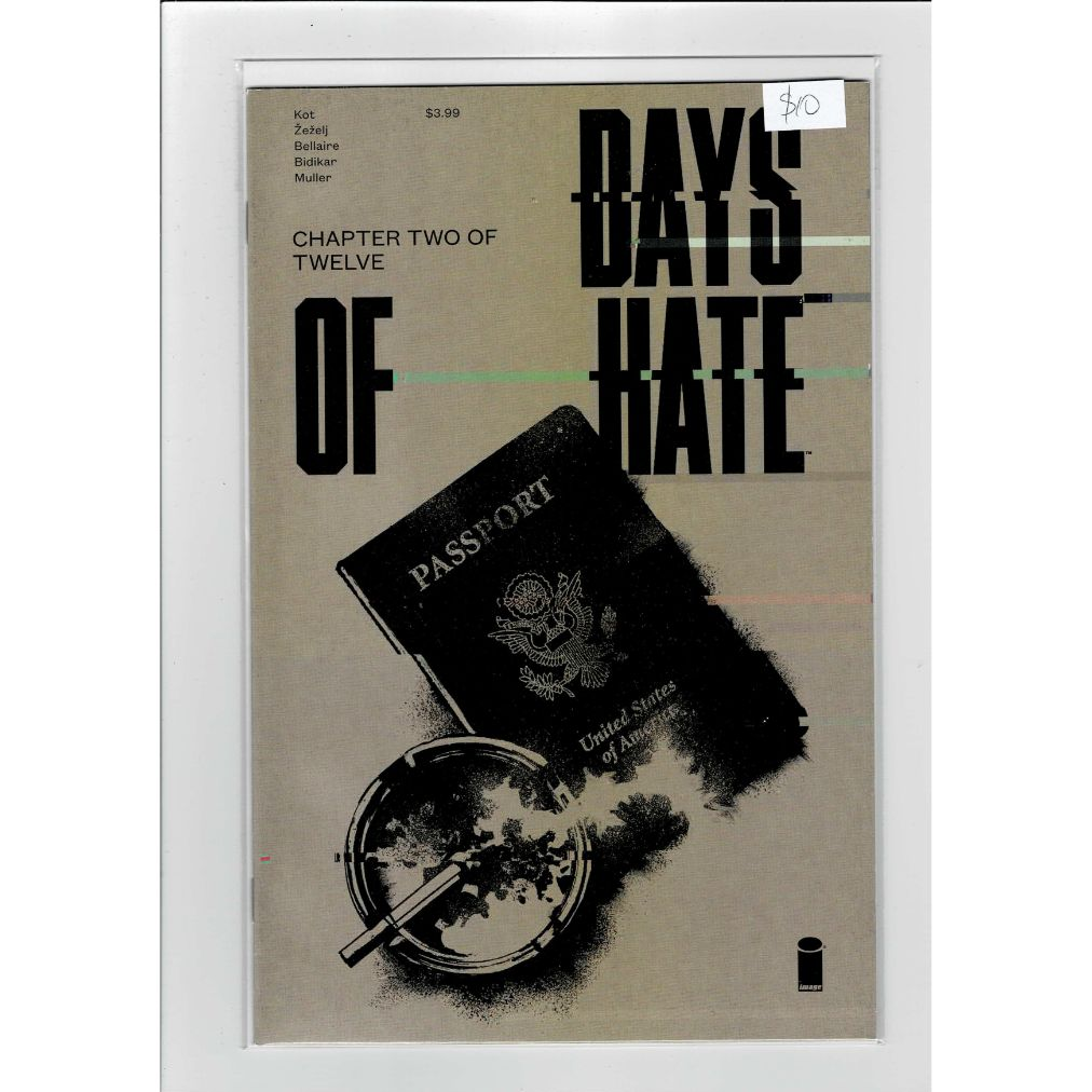 Days Of Hate #2 Image Comics Book