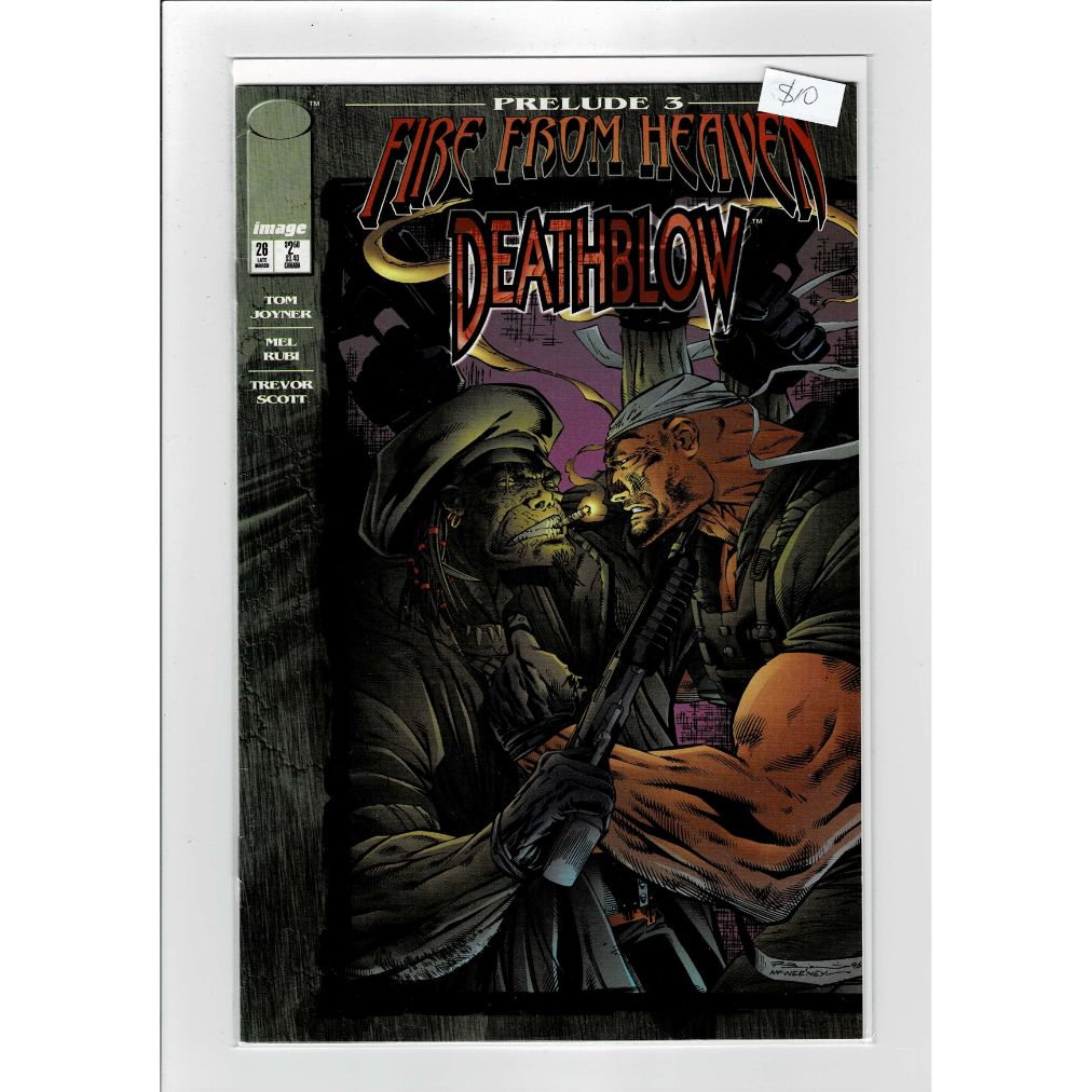 Deathblow #28 Fire From Heaven Image Comics Book