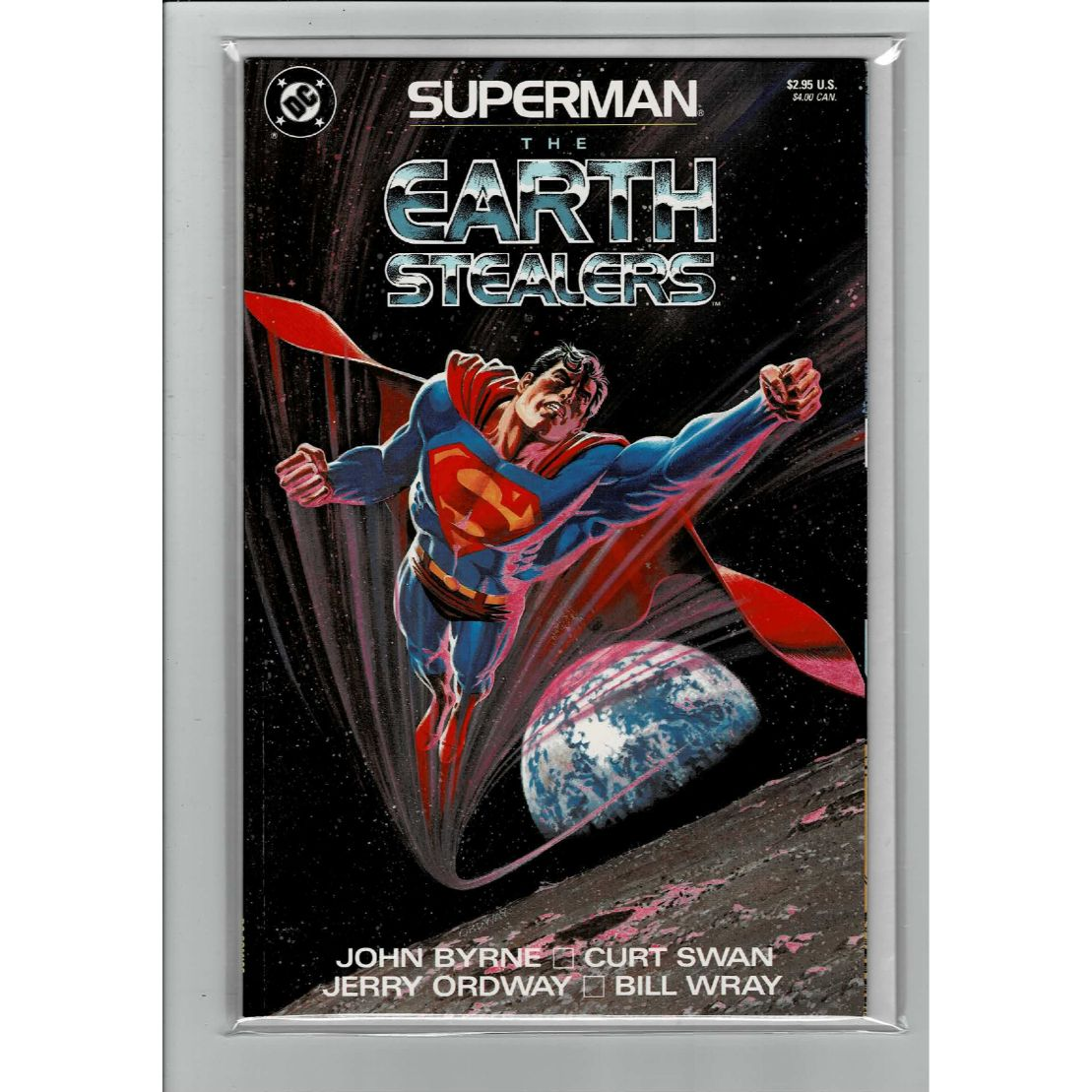 Superman The Earth Stealers DC Comics Book