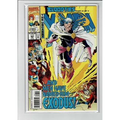 The Uncanny X-Men #307 Marvel Comics Book