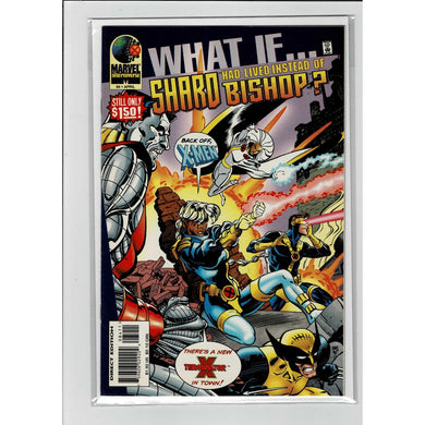 What If ... #84 Shard lived instead of Bishop? Marvel Comics Book