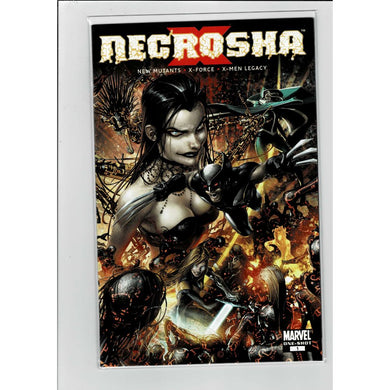 Necrosha New Mutants X-Force One Shot Marvel Comics Book