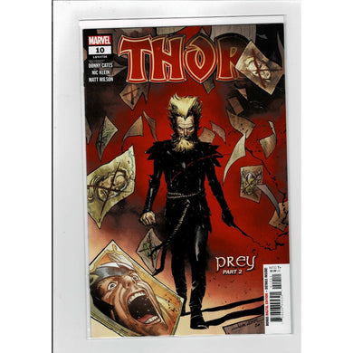Thor #10 Donny Cates Marvel Comics Book