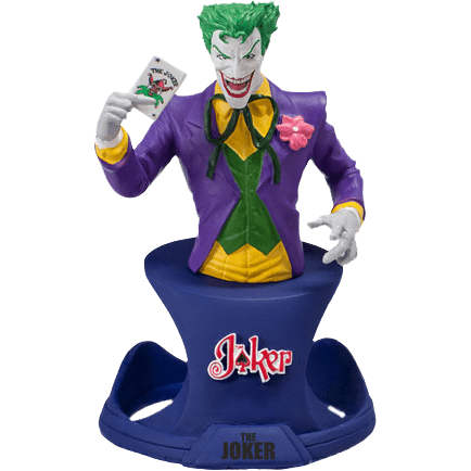 Joker - DC Resin Bust Statue Paperweight - Stack The Cards - [variant_title]