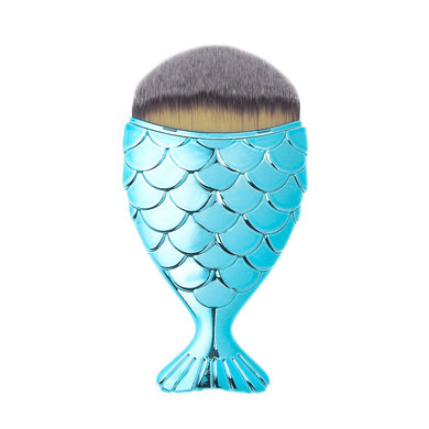 Aqua Chubby Mermaid Brush by Mermaid Salon