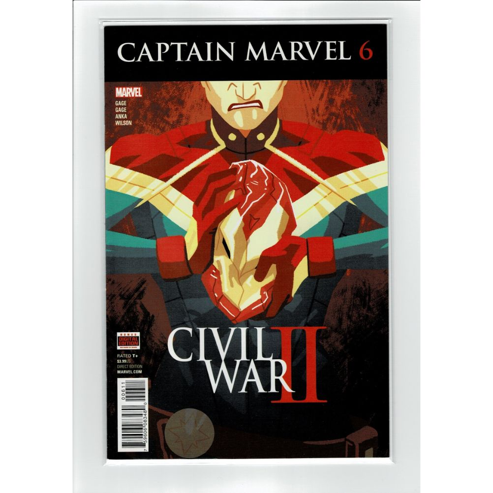 Captain Marvel #6 Civil War II Marvel Comic Book