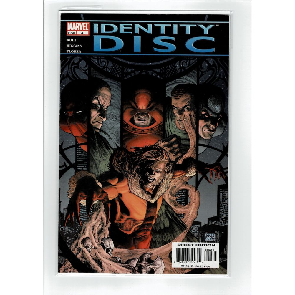 Identity Disc #4 Marvel Comic Book