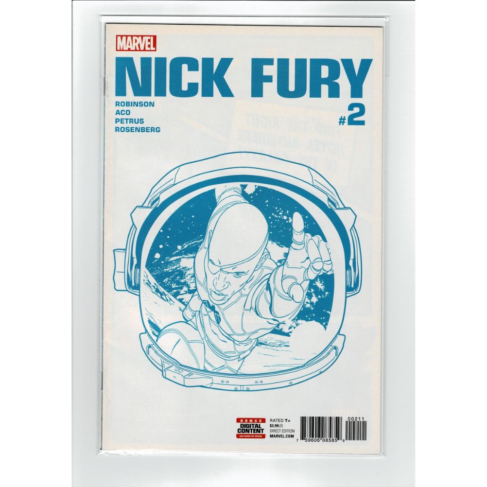 Nick Fury #2 Direct Edition Marvel Comic Book