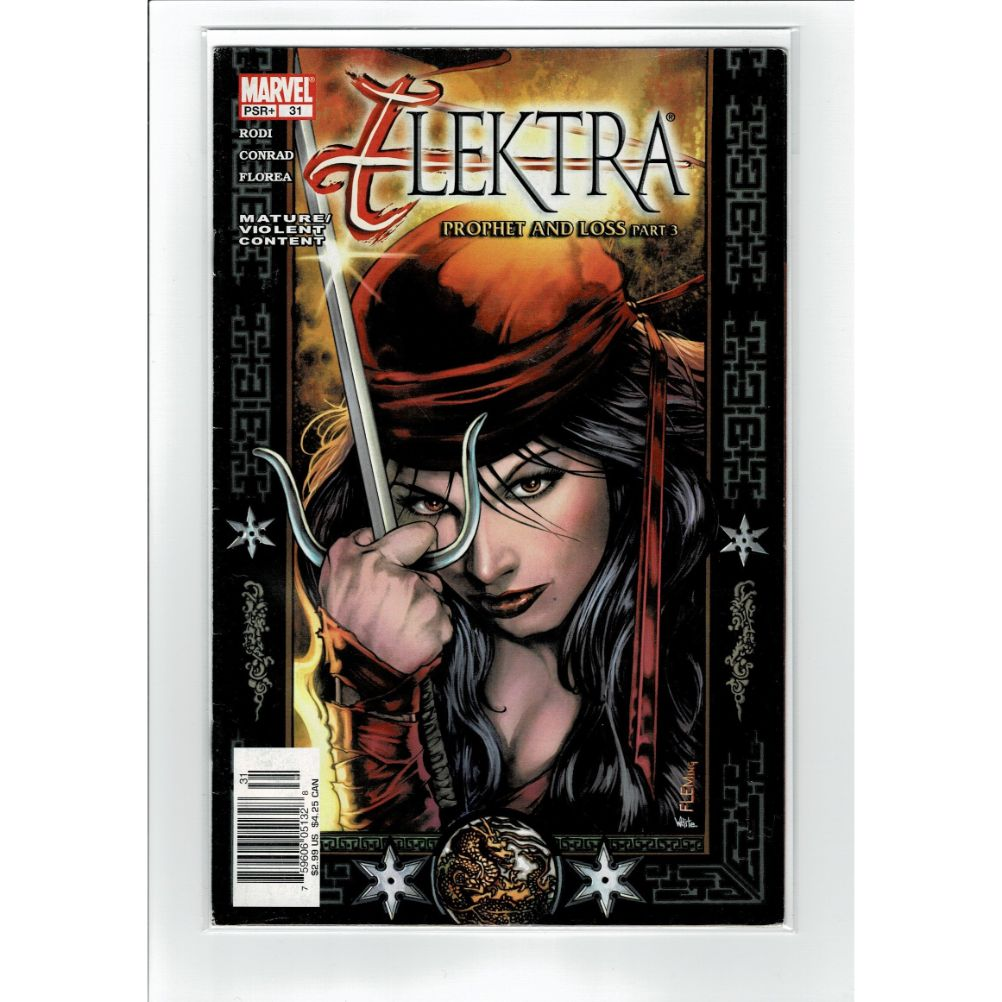 Elektra #31 Prophet and Loss Part 3 Marvel Comic Book