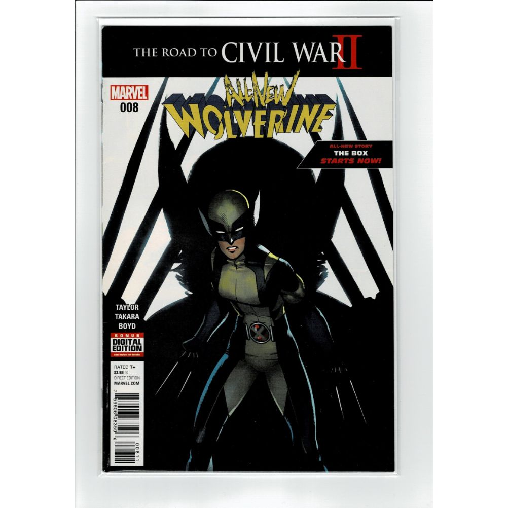 All New Wolverine #8 Road to Civil War II Marvel Comic Book