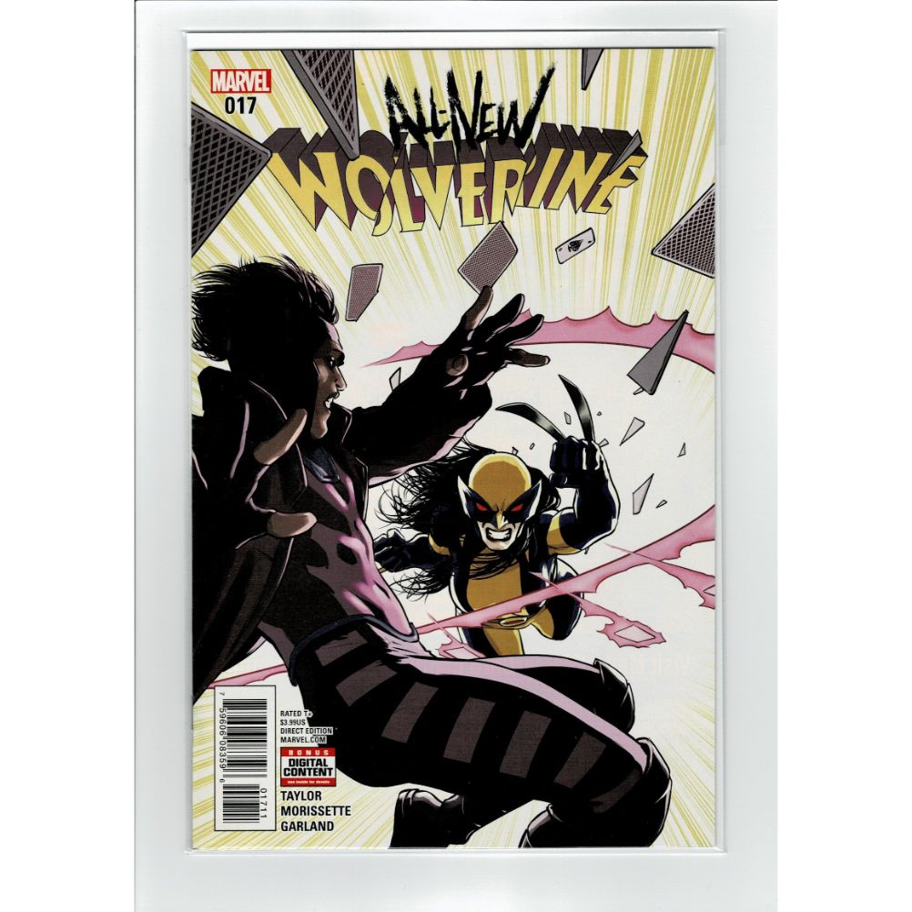 All New Wolverine #17 Marvel Comic Book