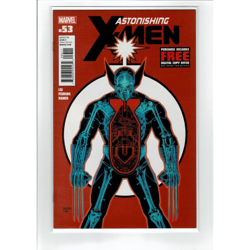 Astonishing X-Men #53 Wolverine Marvel Comic Book