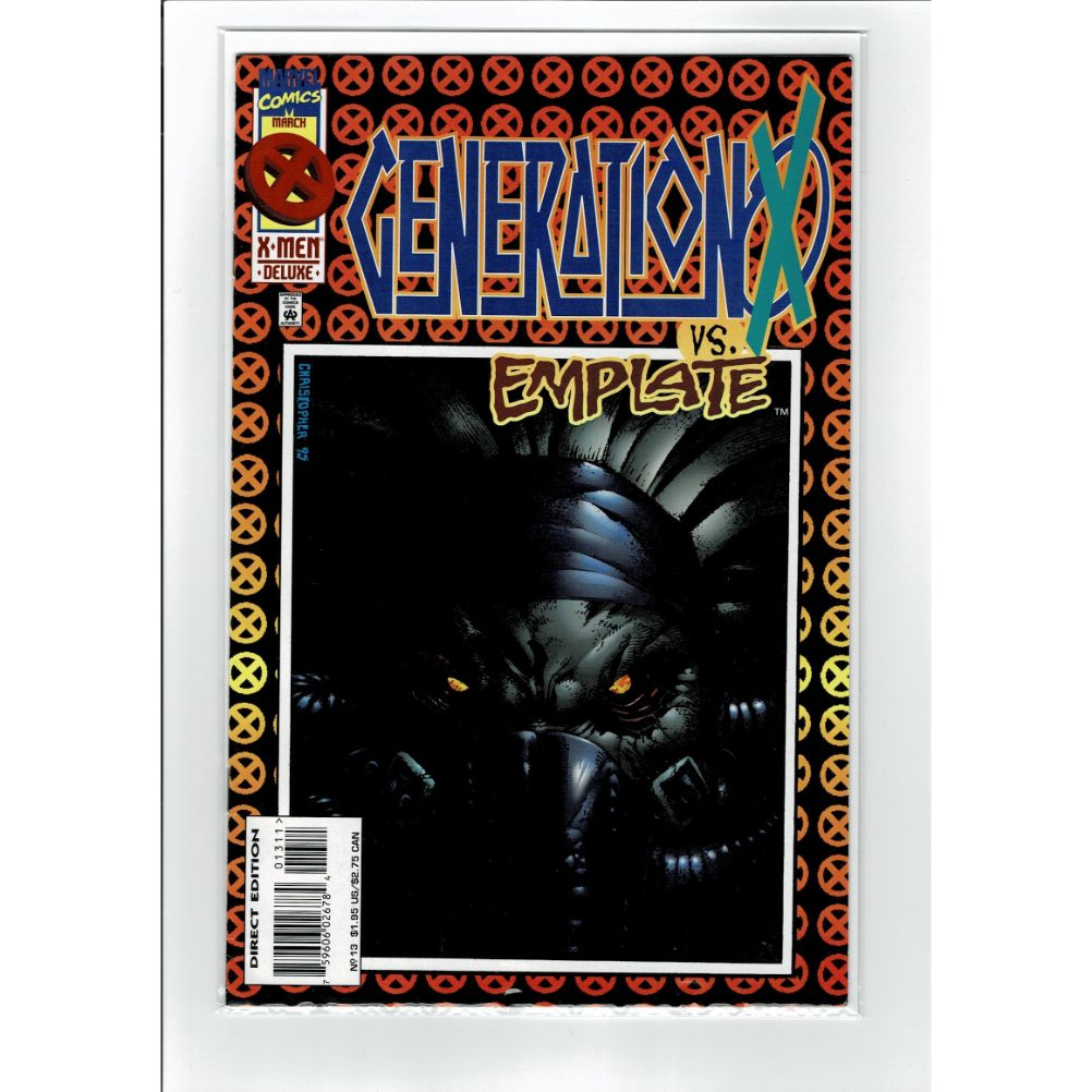 Generation X #13 vs. Emplate Marvel Comic Book