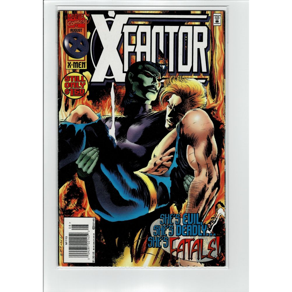 X Factor #113 X-Men She's Fatale! Marvel Comic Book