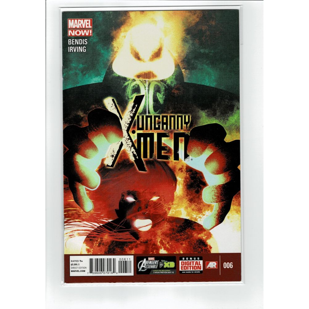 Uncanny X-Men #6 Bendis Irving Marvel Comic Book