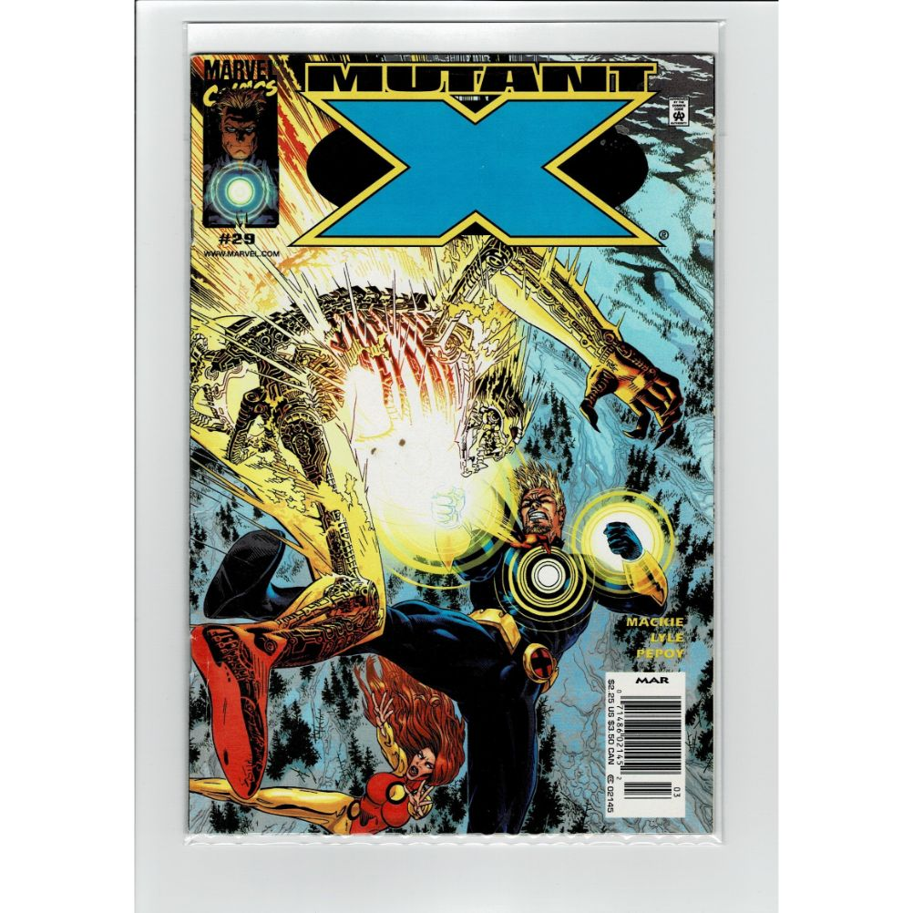 Mutant X #29 Mar Marvel Comic Book