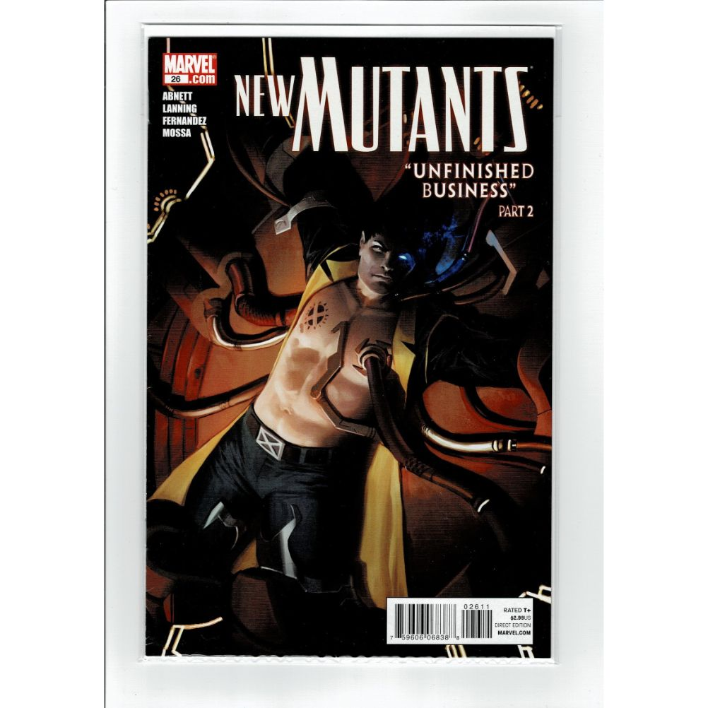 New Mutants #26 Unfinished Business 2 Marvel Comic Book