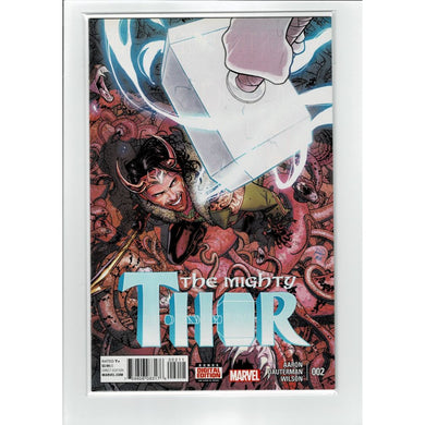 The Mighty Thor #2 Direct Edition Marvel Comic Book
