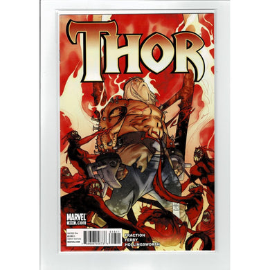 Thor #618  Fraction Ferry  Marvel Comic Book