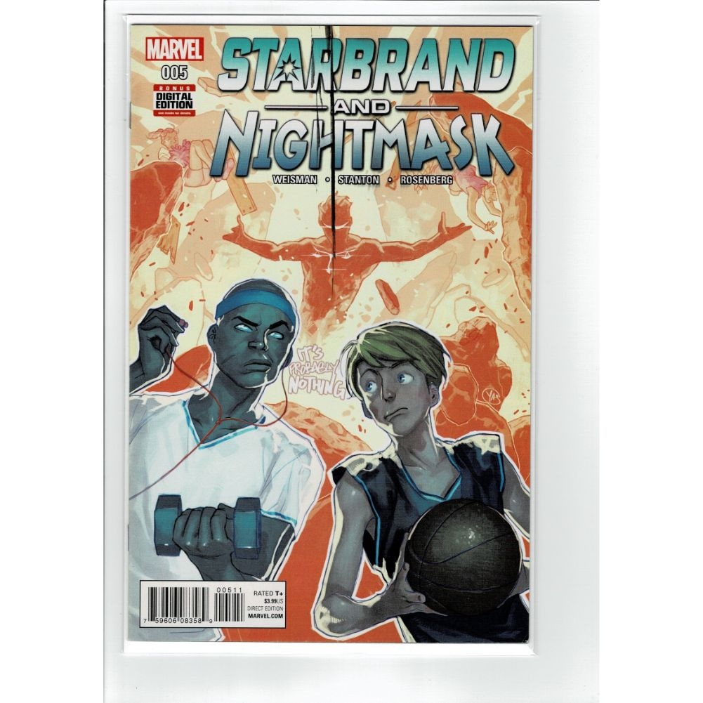 Starbrand and Nightmask #005 Marvel Comic Book