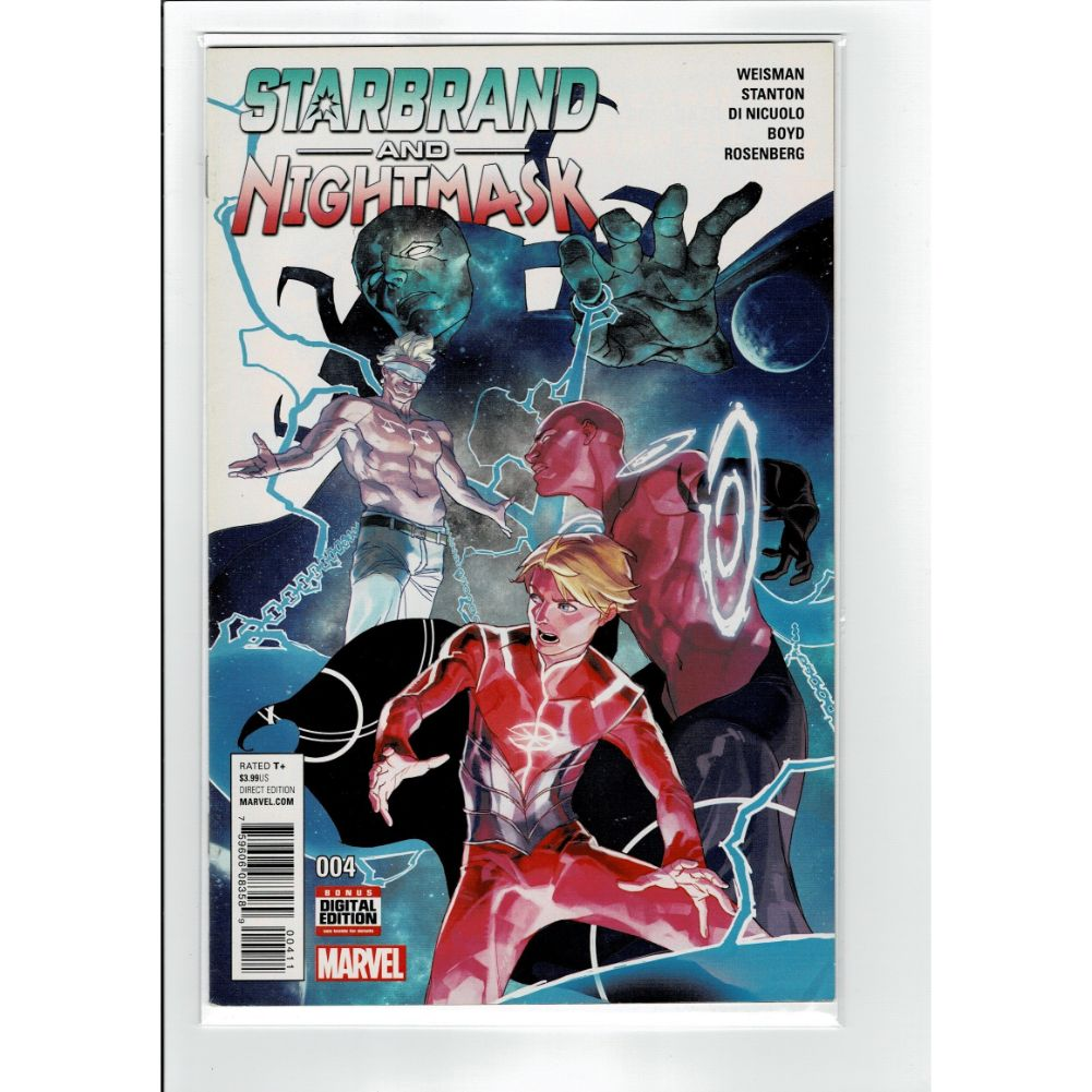 Starbrand and Nightmask #004 Marvel Comic Book