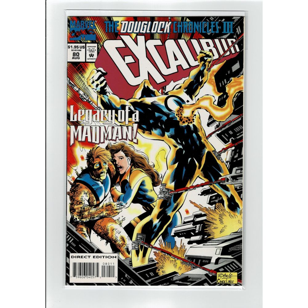 Excalibur #80 Legacy Of A Madman! X-Men Marvel Comic Book