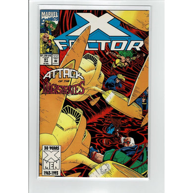X-Factor #91 Attack Of The Magistrates Marvel Comic Book