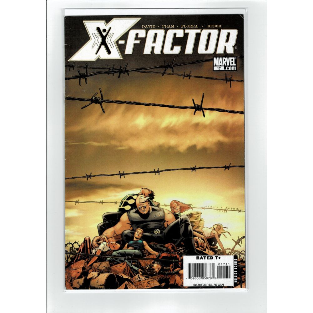 X-Factor #17 X-Men Marvel Comic Book