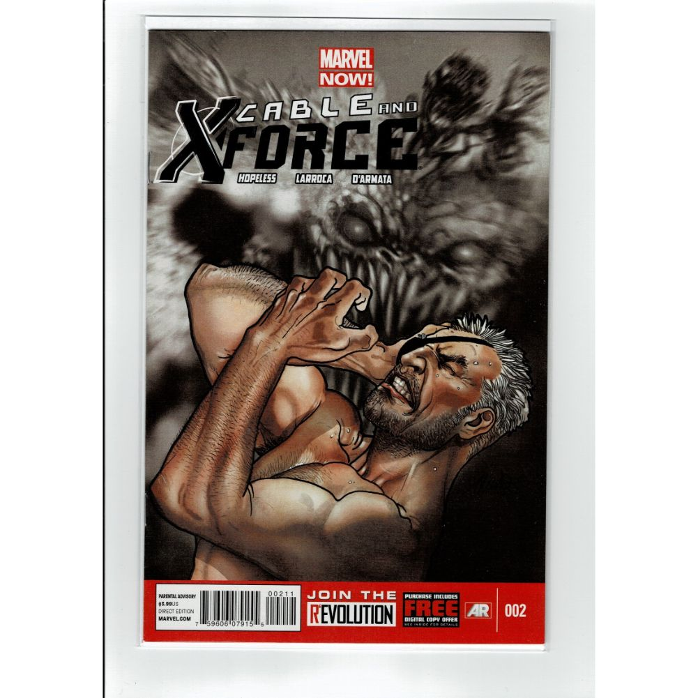 Cable and X-Force #2 Marvel Comic Book