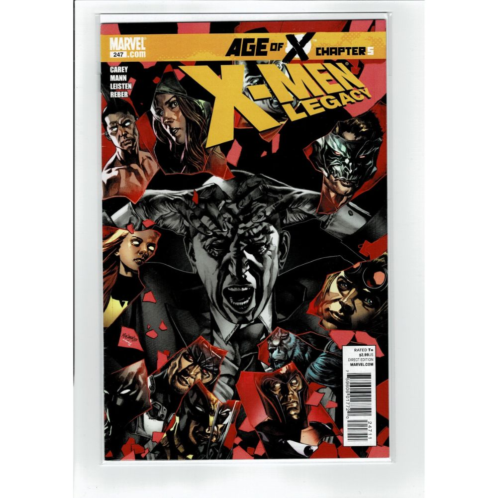 X-men Legacy #247 Age Of X 5 Marvel Comic Book