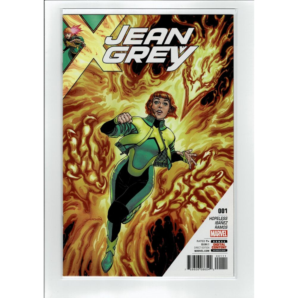 Jean Grey #1 X-Men Marvel Comic Book