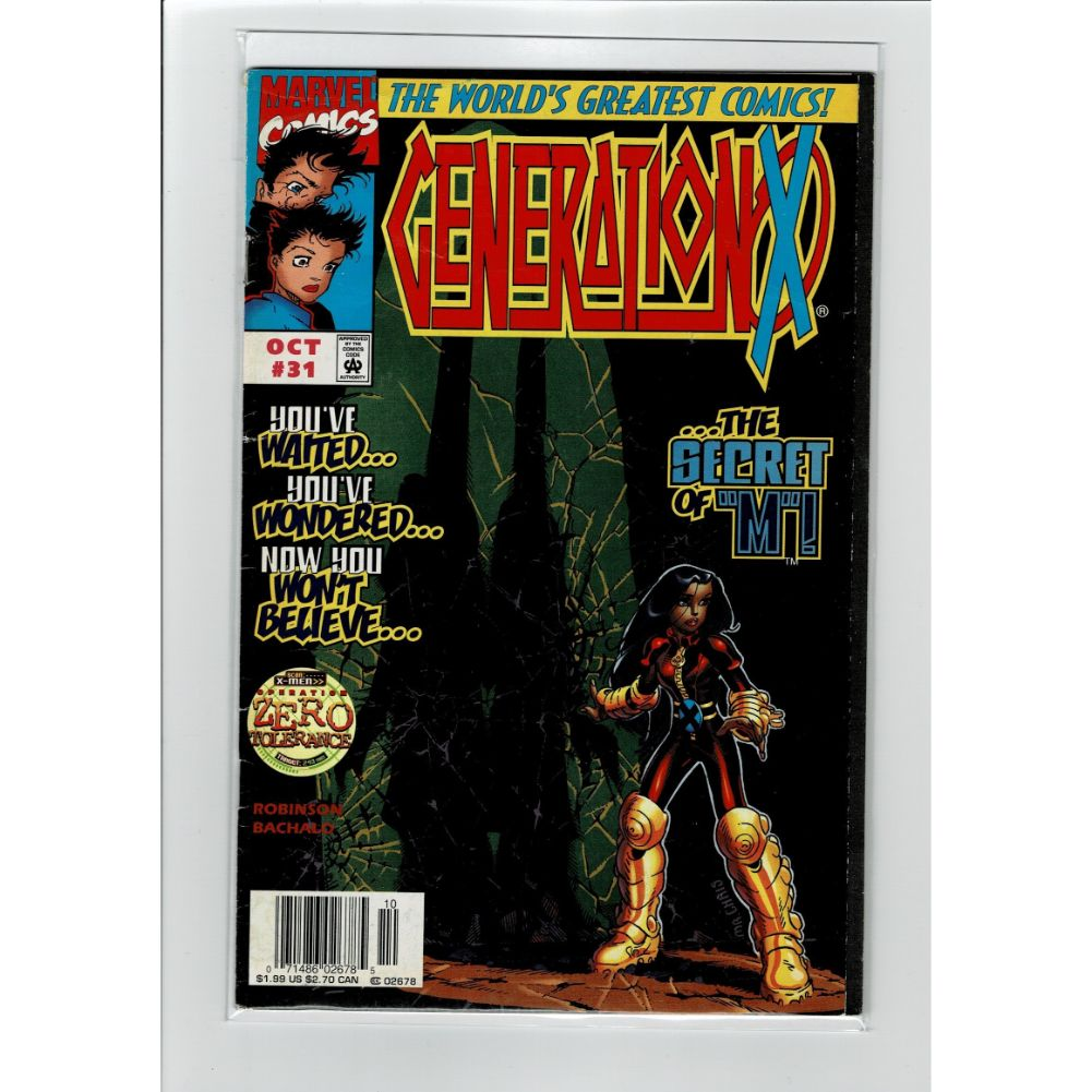 Generation X #31 The Secret Of M Marvel Comic Book