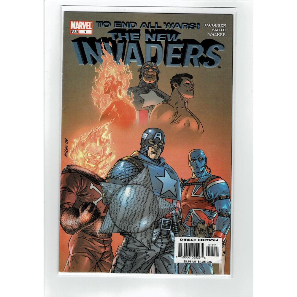 The New Invaders #1 To end all wars Marvel Comic Book