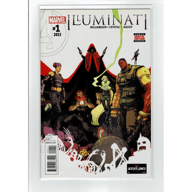 Illuminati #1 2015 Marvel Comic Book