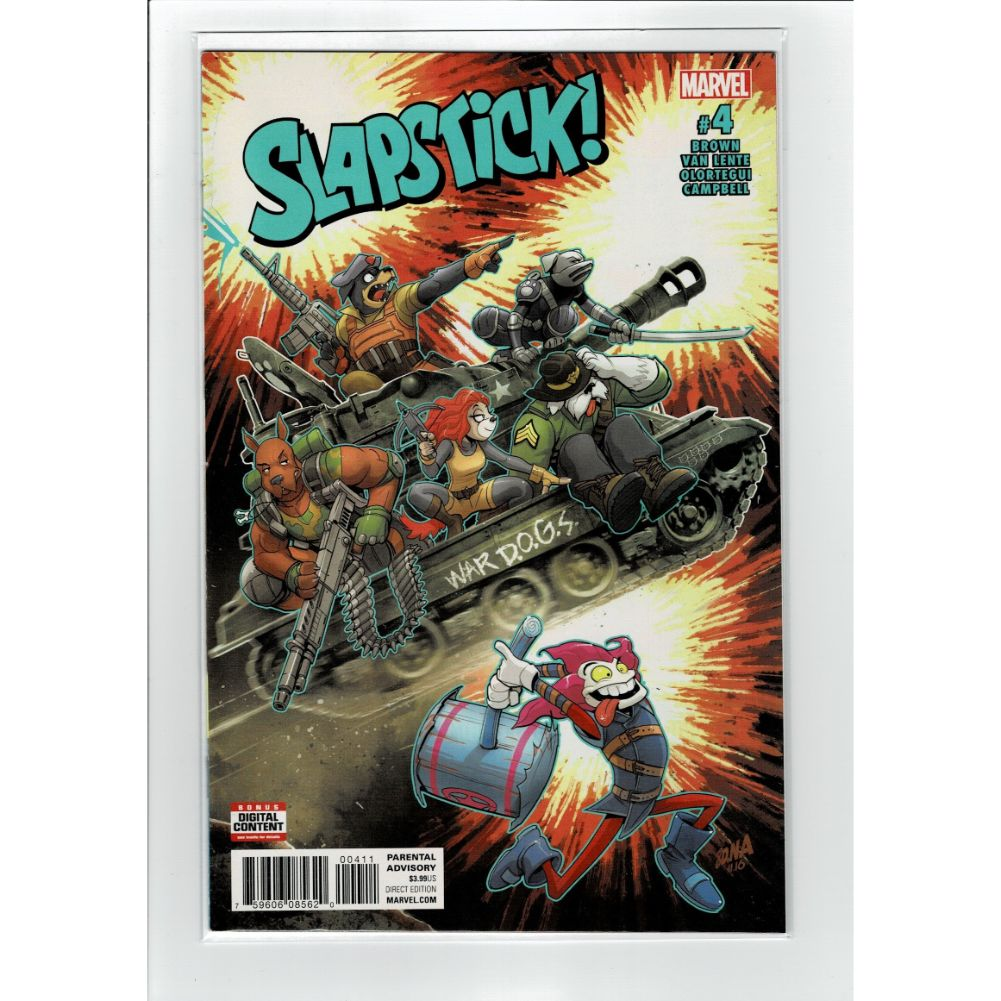 Slapstick #4 Marvel Comic Book