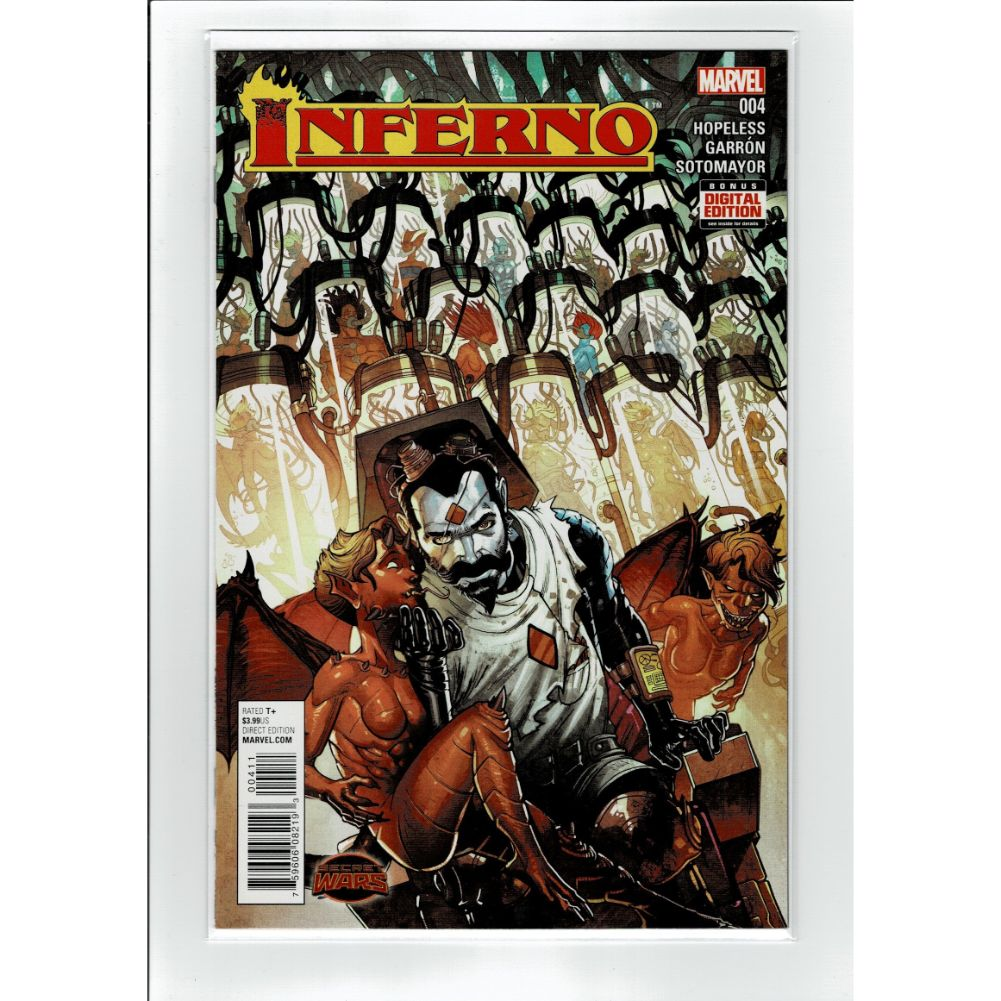 Inferno #4 Marvel Comic Book