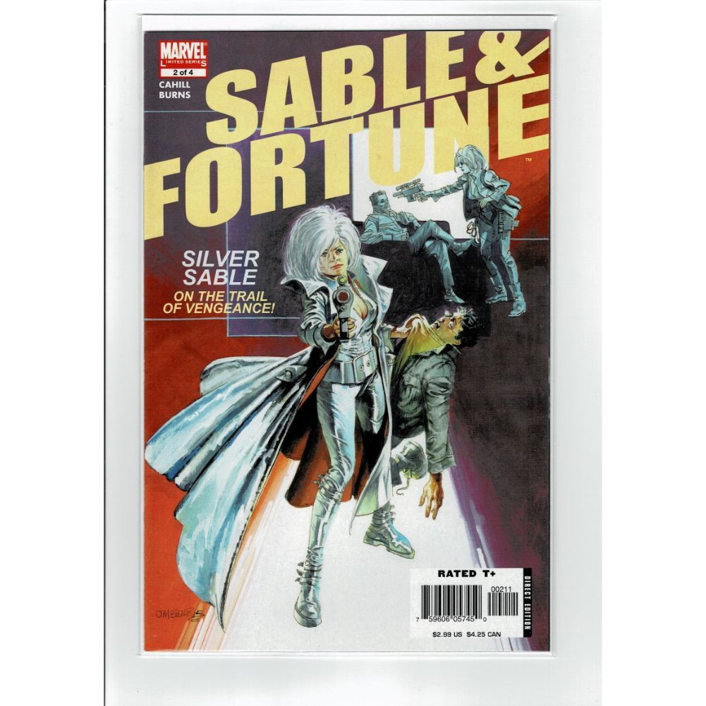 Sable & Fortune #2 Silver Sable Marvel Comic Book