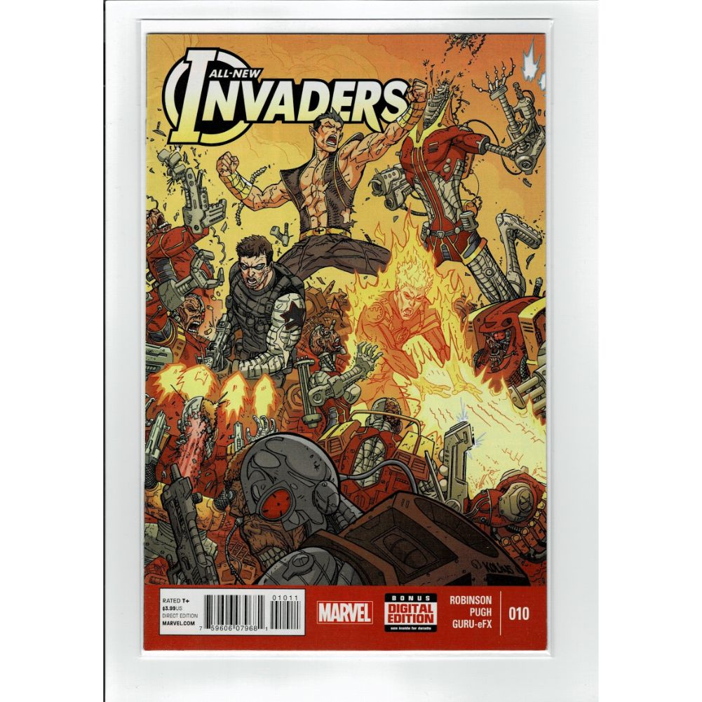 All New Invaders #10 Marvel Comic Book