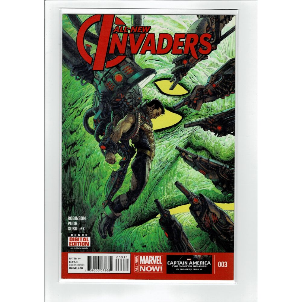 All New Invaders #3 Marvel Comic Book