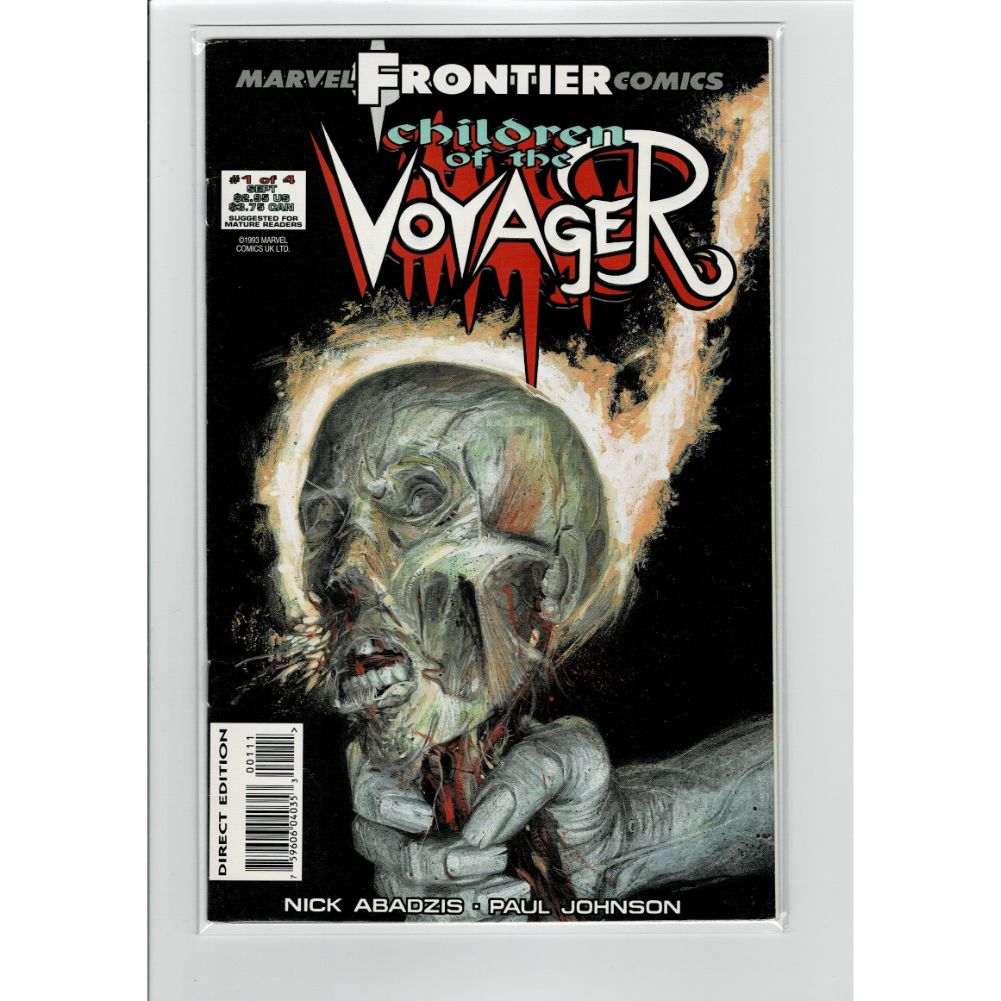 Children of the Voyager #1 Frontier Marvel Comic Book