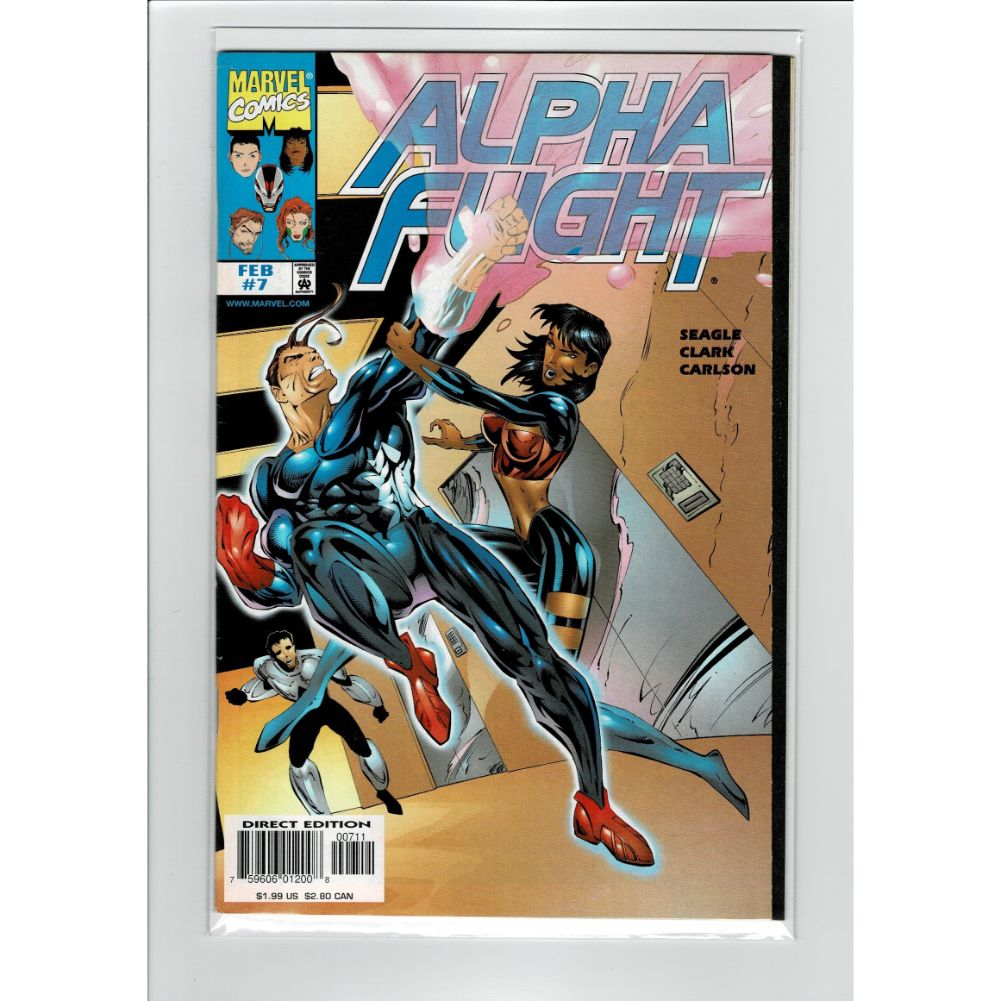 Alpha Fight #7 Marvel Comic Book