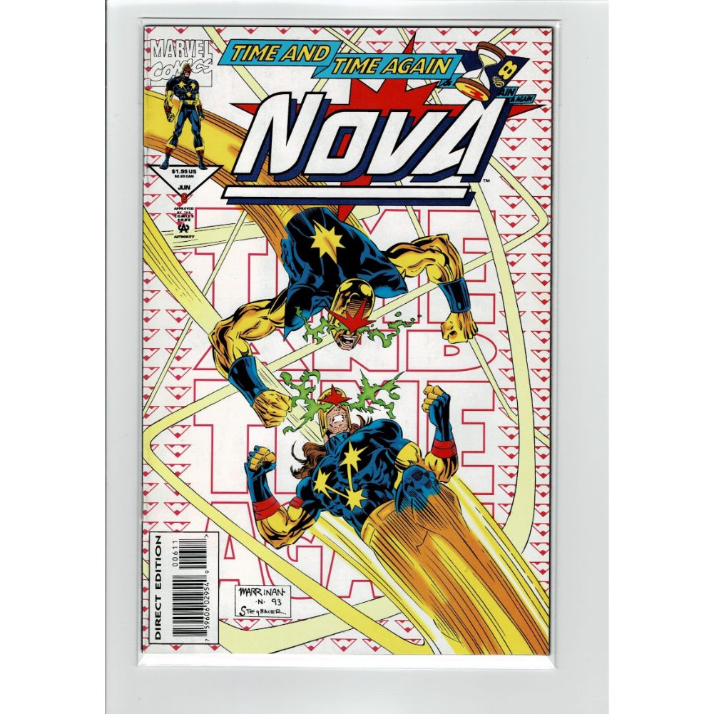 Nova #6 Time and Time Again Marvel Comic Book