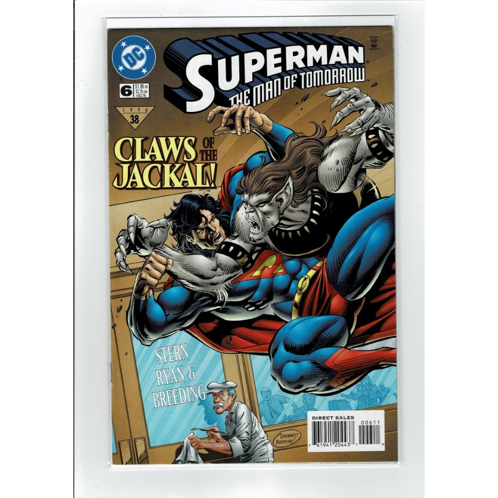 Superman The Man of Tommorow #6 Jackal!  DC Comics Book
