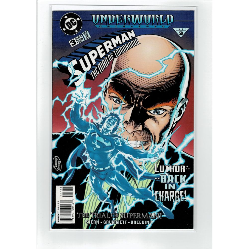 Superman The Man of Tommorow #3 The Trial DC Comics Book
