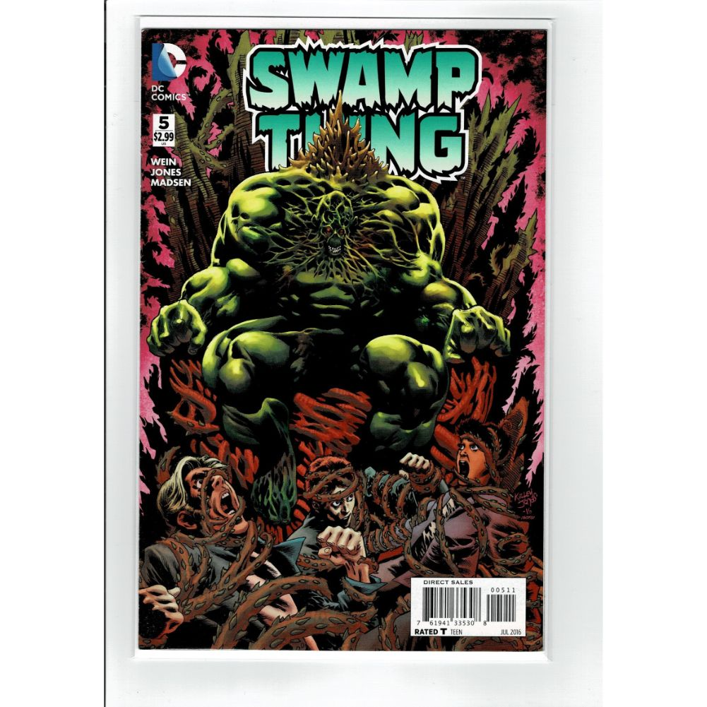 Swamp Thing #5 DC Comics Book